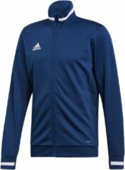 Marineblauwe Adidas T19 Trainingsjas