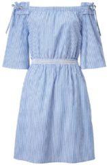 ODEON Kleid, mit Carmenausschnitt, Modisch, Baumwolle
