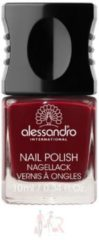 Alessandro Make-up Nagellack Colour Explotion Nagellack Nr. 26 Velvet Red 10 ml