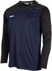 Marineblauwe Hummel Cult Keeper Shirt Sportshirt Kinderen - Navy - Maat 140