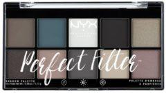 NYX Professional Makeup Paletten Nr. 4 - Gloomy Days Lidschattenpalette 17.7 g
