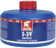 Griffon soldeermiddel vloeistof S-39 Universal, 320ml, voor RVS, voor koper