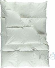 Witte Loiva Silver Donzen dekbed - Winterdekbed 160 x 220 cm - Eenpersoons