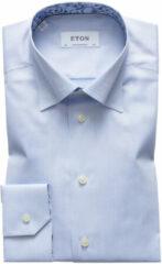 Eton 1000 00058 21 overhemd blauw