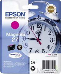 Epson inktcartridge 27 magenta, 300 pagina\'s - oem: c13t2 7034010
