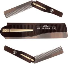 Bruine Sir Reginalds | Compacte en Opvouwbare Baard- en Snorkam