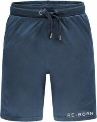 Marineblauwe Re-Born Jogging Short Heren - Navy - Maat L