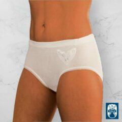 Witte HL-tricot Bikini slip classic- large