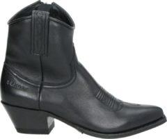 Sendra 13504 Lia Flex dames cowboylaars - Zwart - Maat 38
