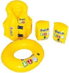 Jilong swim kid set - aufblasbares Schwimmlernset, Schwimmring, Schwimmweste, Schwimmflügeln