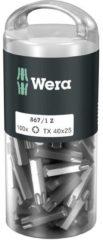 Wera 867/1 Z TORX® DIY 100 SiS Torx-bit T 40 Gereedschapsstaal Gelegeerd, Taai D 6.3 100 stuk(s)