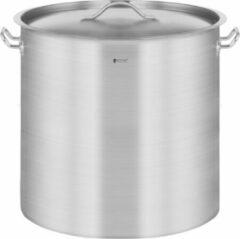 Zilveren Royal Catering Kookpan inductie 36 L