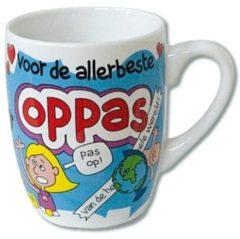 123 Kado koffiemokken Cartoonmok Oppas