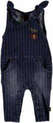 Blauwe Bess! Meisjes Jumpsuit - Maat 68 - Denim - Katoen/elasthan