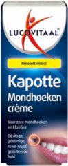 Lucovitaal Lippenbalsem Kapotte Mondhoeken Crème 15 ml - Verzorgd en ondersteunt