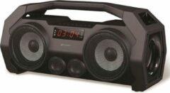 Platinet PMG76B Draadloze stereoluidspreker 14W Zwart draagbare luidspreker