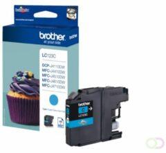 Brother LC123C Origineel Inktcartridge Cyaan