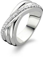 Zilveren TI SENTO Milano Ring 1861ZI - Maat 52 (16,5 mm) - Gerhodineerd Sterling Zilver