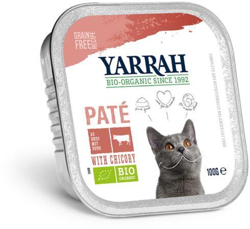 Afbeelding van Yarrah welness pate biologische kip en rund, kuipje - 100 gr