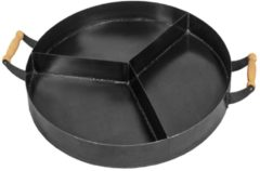 CooKking STEEL PAN: 3 CHAMBERS Dia. 70cm