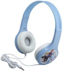 Lichtblauwe Disney Frozen 2 kinder hoofdtelefoon