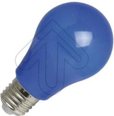 EGB gekleurde LED spatwaterdicht blauw 3W (vervangt 15W) grote fitting E27