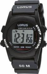 Zwarte Lorus R2357AX9 - Horloge - Kunststof - 36.5 mm - Zwart