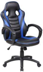 Zwarte Rocada Gamestoel Student - Blauw
