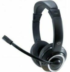 CONCEPTRONIC Headset USB 2m Kabel,Mikro,Fernb. Stereo zwart