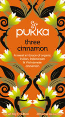 Pukka Org. Teas Three Cinnamon (20st)