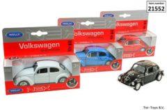 Welly Die Cast Volkswagen Beetle cabrio, schaal 1:34