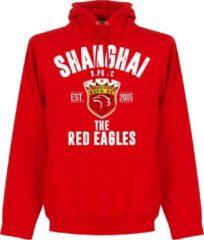 Retake Shanghai SIPG Established Hoodie - Rood - XXL