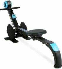 Capital_sports Stringmaster Roeiapparaat 100 kg inklapbaar zwart/blauw