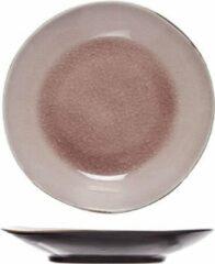Roze Cosy&Trendy Laguna Blauw-Grijs Dessertborden 21.5cm - Aardewerk - (Set van 6) En Yourkitchen E-kookboek - Heerlijke Smulrecepten