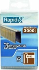 Rapid 5000124 Nieten - No. 90 - Gegalvaniseerd - 25mm (3000st)