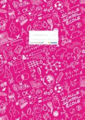 HERMA 19409 1stuk(s) Roze tijdschrift- & boekomslag