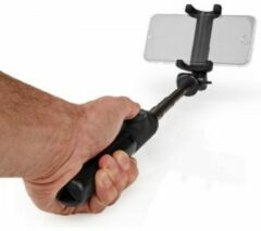 Nedis Uitschuifbare Selfiestick | met afneembare draadloze afstandsbediening | Statief | Draagbaar | Zwart