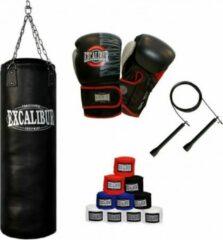 Zwarte Gorilla Sports Boks Set Excalibur Pro