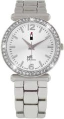 Lucardi Little Miss Fabulous WJ2034-1C - Horloge - Staal - Zilverkleurig - Ø 30 mm