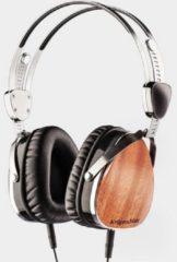 Krüger&Matz koptelefoon KM0660SP zilver / zwart - sapelehouten oorschelpen