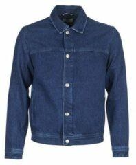 Blauwe Spijkerjack Tommy Jeans TJM STREET TRUCKER JKT