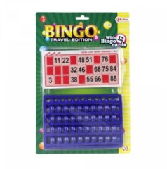 Toitoys Toi-toys Bingo Reisspel Rood/blauw 30 Cm