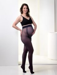 Marineblauwe Mamsy Super Comfortabele Zwangerschaps Panty 20den (Marine | XL)
