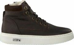 Omoda Jongens Hoge sneakers O2586 - Bruin - Maat 35