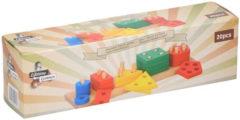 Lifetime games blokkenspel - vanaf 4 jaar - hout - 20-delig