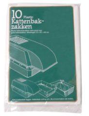 PLASTIC KATTENBAKZAK VOOR EXTRA GROTE KATTENBAKKEN #95; 51X20X46 CM