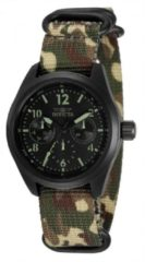 Zwarte Invicta Coalition Forces 33572 Quartz Dameshorloge - 38mm - Met extra banden