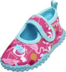 Turquoise Playshoes UV waterschoenen Kinderen - Flamingo - Roze - Maat 28/29