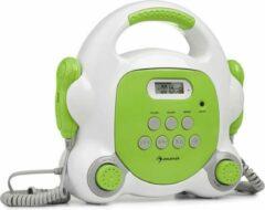 Auna Pocket Rocker BT karaoke speler BT USB-poort MP3 2xmicro groen