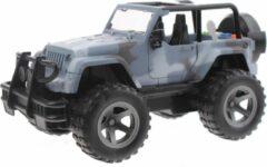 Toi Toys BV Cross Country Off-Road Jeep met Licht en Geluid (Grijs) 21 cm Toys - Modelauto - Schaalmodel - Model auto - Miniatuurauto - Miniatuur autos